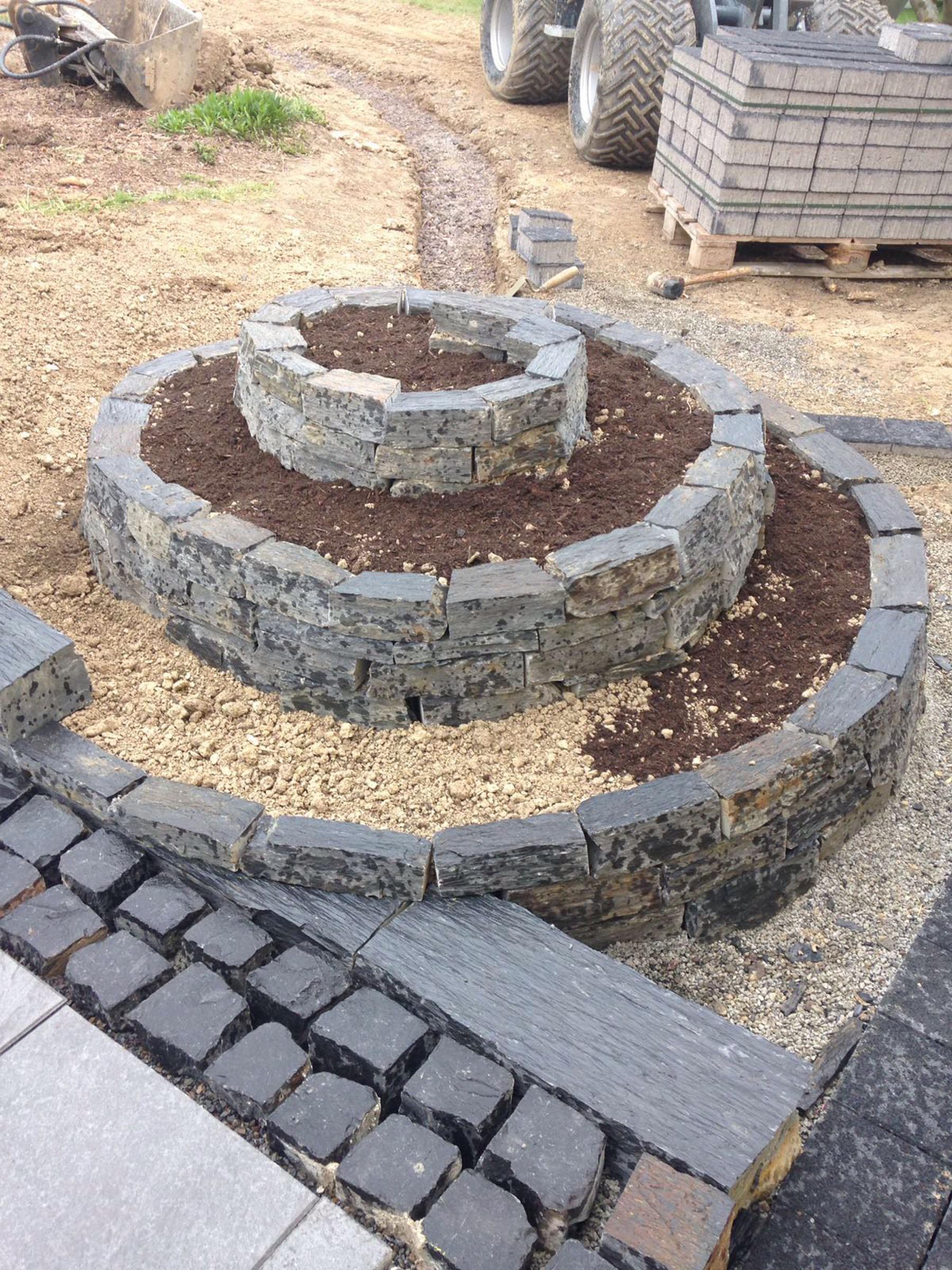 Inspirierend Beetgestaltung Mit Steinen Design