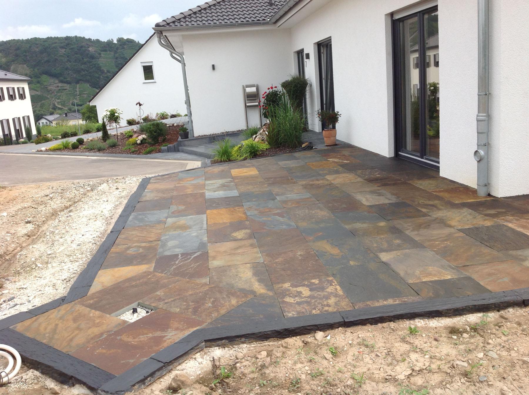 Terrassenplatten  Terrassenplatten – backes