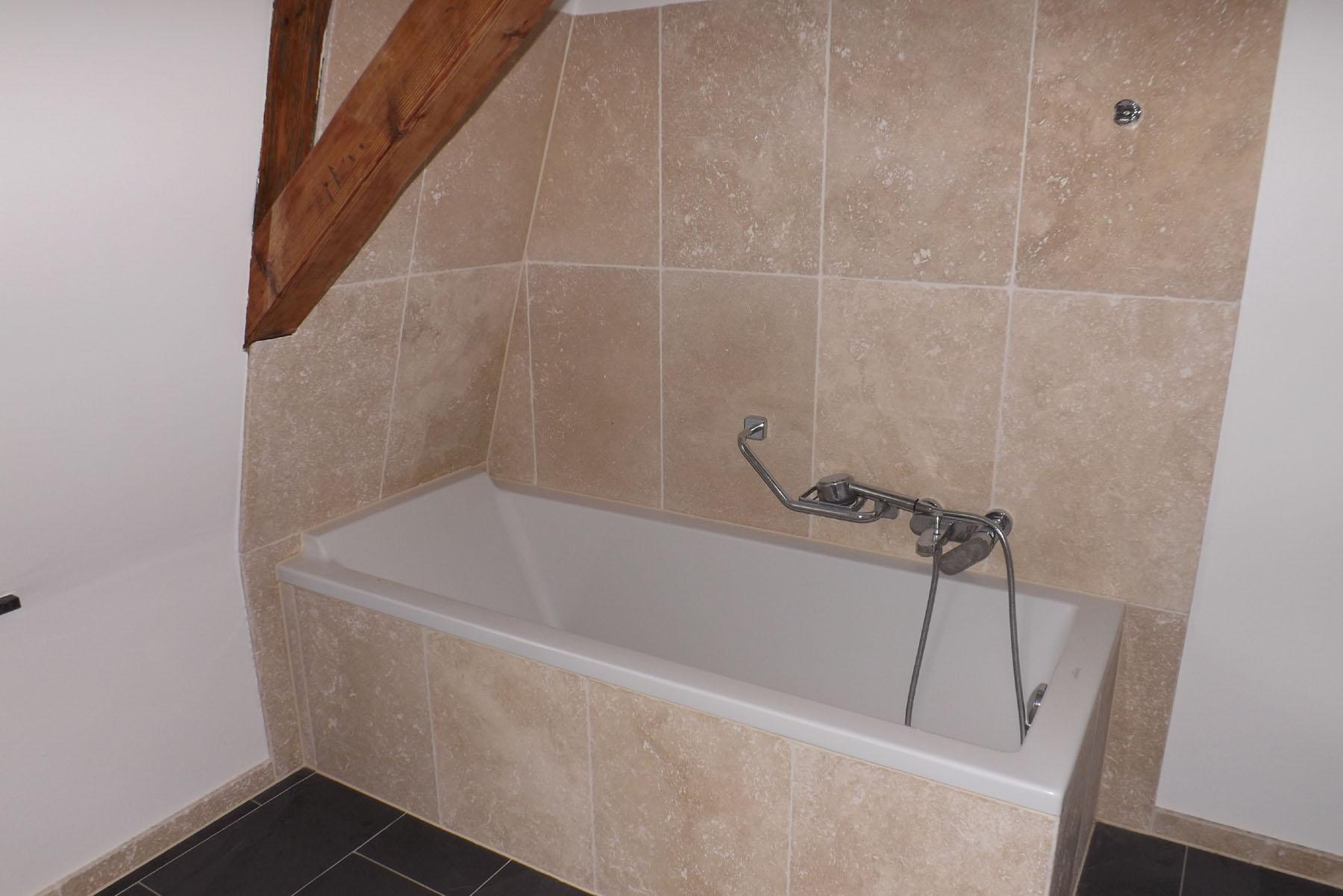 badezimmer travertin glasfliesen bad schne ideen mosaik. Black Bedroom Furniture Sets. Home Design Ideas